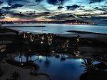 Tangier Bay at night