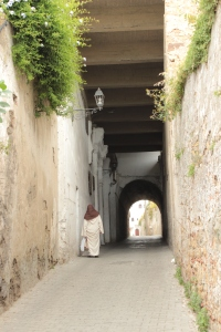 this old lady was resting every 30 seconds, the medina is very hilly - its all up and down