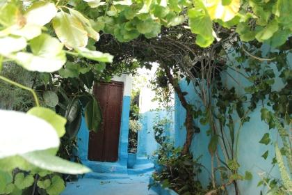 blue doors mean Berber doors
