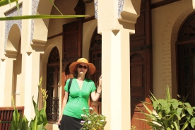 Me by my palace in Fez