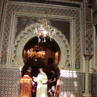 mausoleum of Idrissi - we can't go in