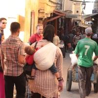 strollers are hard in medina