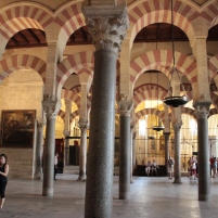 Gorgeous cathedral/mosque in Cordoba