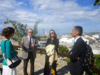 discussing Baj Hajoui, the community center
