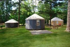 Yurt as a camping hut !