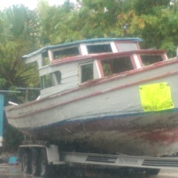 A boat from Cuba - yes, someone escaped on this