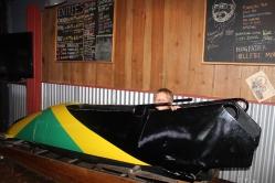 Jamaican bob sled, everywhere