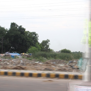 Open dumping of trash on the streets - everywhere