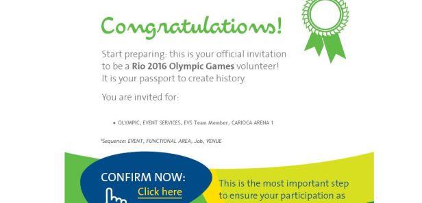 rio 2016 invite