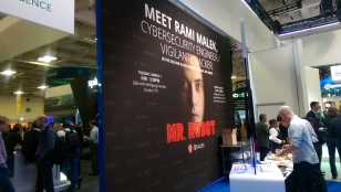 the celebrity guest star - yes, Mr Robot is big in industry, not so much the CSI Cyber
