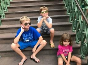The trio in Charleston